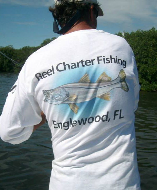 Reel Charter Fishing T-shirt